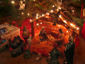 A Christmas Nativity Set