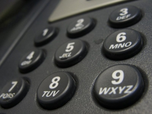 phone number buttons