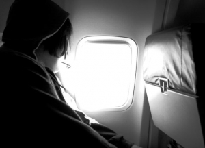plane passenger window