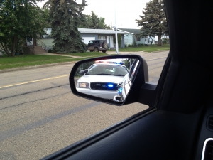 Picture of Pulled Over By Police Car