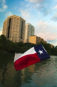 Picture of the Texas flag
