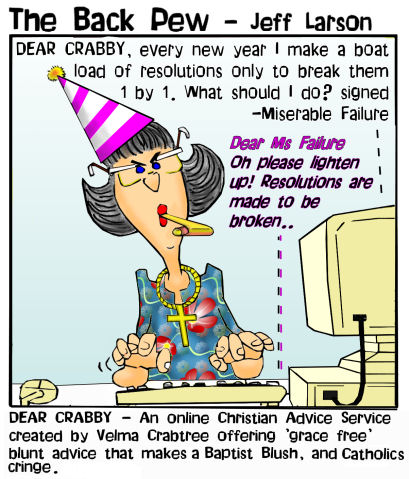 crabby new year bible cartoons