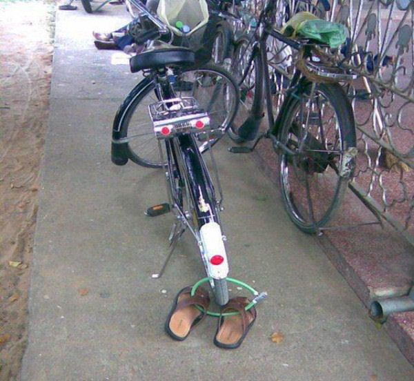 A funny bike picture