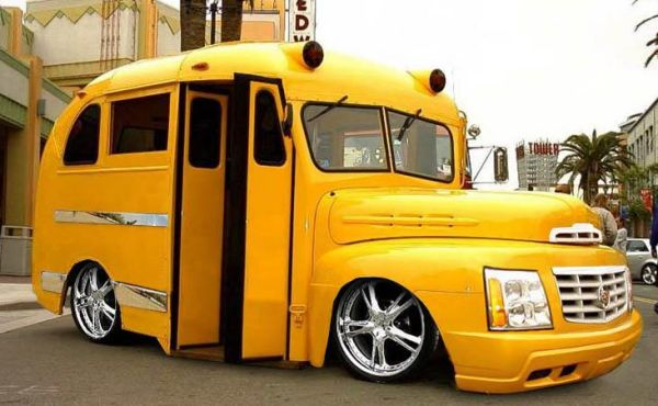 Funny Pictures of Upside Down Bus