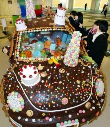 Funny Pictures of Chocolate Volkswagen Bug