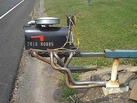 Funny Pictures of Mail Box Motor
