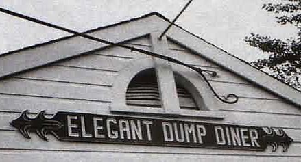 Funny Pictures of Elegant Dump Diner Sign