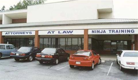 Funny Pictures of Lawyer Ninja Sign