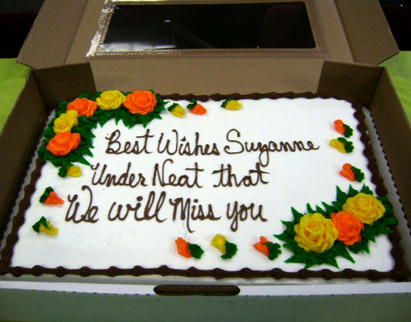 A funny cake order mistake